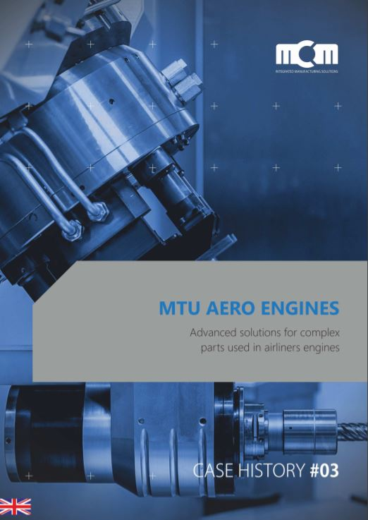 A multitasking solution for manufacturing complex aircraft parts - Brochure