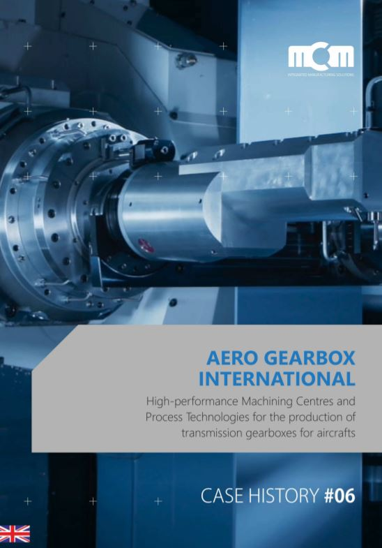 MCM case study on Aero Gearbox International - Brochure